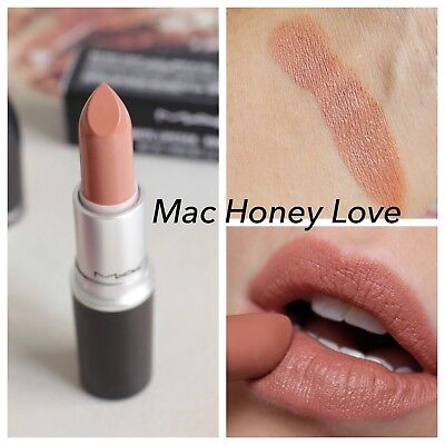 Fabulous MAC MATTE LIPSTICK - HONEYLOVE Nude / Neutral Light Lipstick &IN15