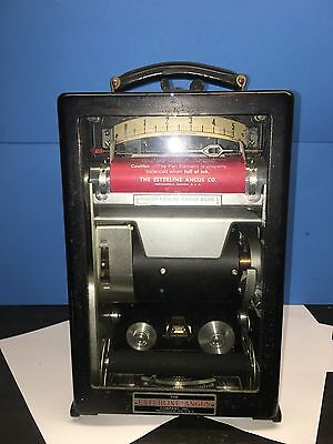 Vintage Esterline Angus Model AW Graphic Ammeter Recorder Rare!