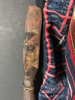 Old Papua New Guinea Abelam Carved Wooden Yam Peg …beautiful collection piece