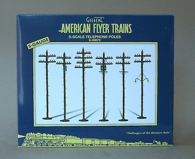 American Flyer 6-49872 Telephone Poles by Lionel