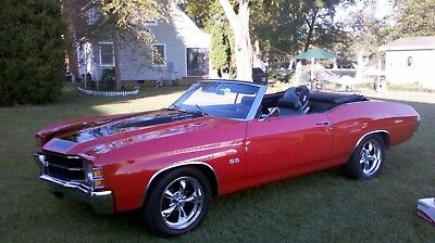 1971 Chevrolet Chevelle SS Chevy Malibu Chevelle SS 2-Door Covertible