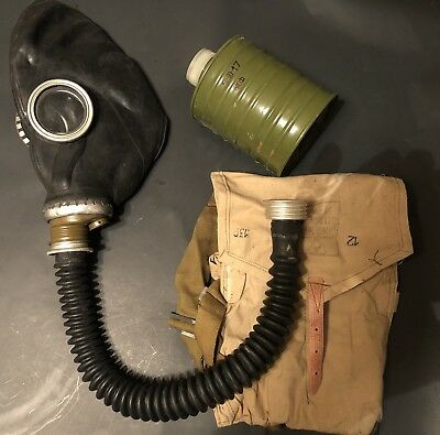 Surplus Military Vintage Russian Gas Mask
