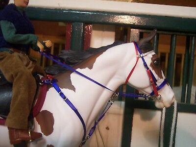Jaapi RWB Endurance tack set for Breyer/Stone model horses, not for real horses