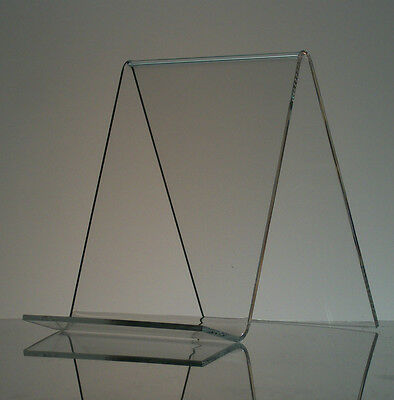 "6"" Acrylic Book Easel/Artwork Display Stand"