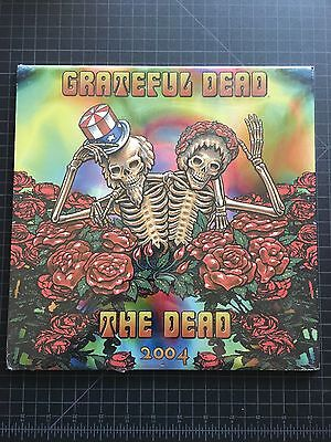 VINTAGE new & sealed official 2004 Grateful Dead Jerry Garcia GDM 13m CALENDAR