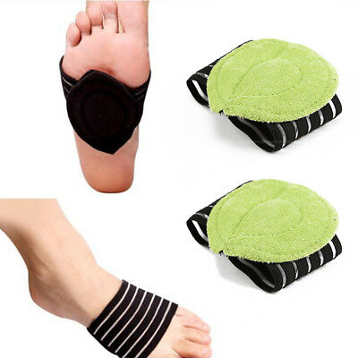 Foot ARCH SUPPORT Heel Pain Relief Plantar Cushion Plantar Fasciitis Insole Pads