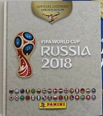ALBUM PANINI RUSSIA 2018 - HARDCOVER FIFA WORLD CUP 2018  WHITE EMPTY cool