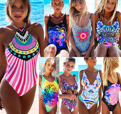 Women Push Up Padded Tankini Bikini Set Swimsuit Bathing Suit Swimwear Beachwear
