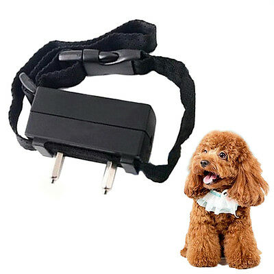 Dog Anti Bark Training Electronic Shock Collar Stop Barking Pet Control Collar