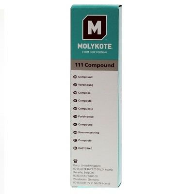 MOLYKOTE 111 Compound - Valve Sealant and O-Ring Lubricant - 100g