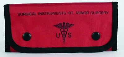 "Voodoo Tactical 15-9589016000 Empty Surgical Kit Pouches Red 7.5""x1""x4"""
