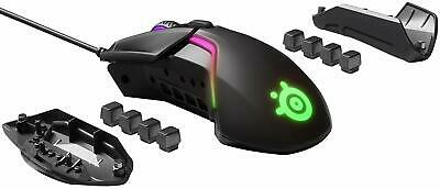 SteelSeries Rival 600 Gaming Mouse RGB LED Wired USB Dual Sensor 12000DPI