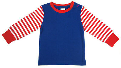 Blade and Rose Blue Stripe Top (To Suit HRH Leggings) All Sizes up to 4 Years