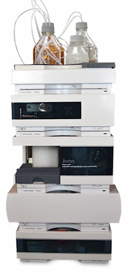 Refurbished Agilent 1100 HPLC Quat/VWD system. Includes 1-year warranty. Used