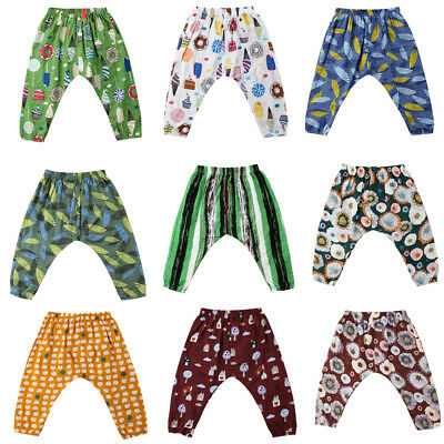 Baby Kids Boy Girl Summer Trousers Toddler Legging Mosquito-proof Bottoms Pants