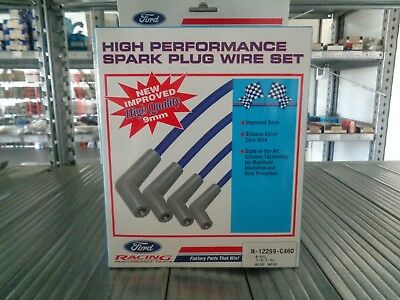Ford Racing Performance Parts High Performance Spark Plug Wire Set M-12259-C460