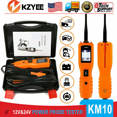 12V PowerScan Car Circuit Tester Electrical Power AVOmeter Diagnostic Tool KM10