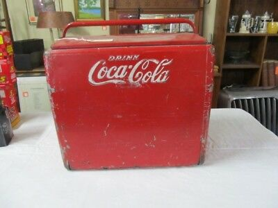 Antique Coca Cola Cooler