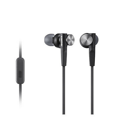 Sony MDR-XB50AP.CE7 In-Ear Extra Bass Stereo Headphones In-Line Control Black