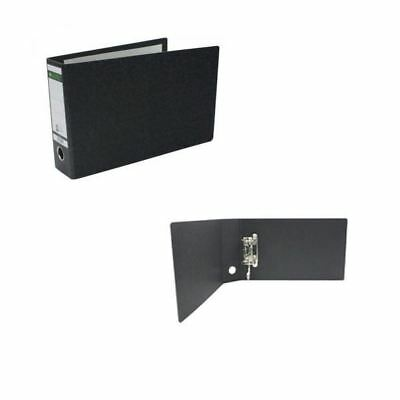 Leitz 180 A5 Upright Black Lever Arch File (Pack of 5) 31070-95 [LZ1075]