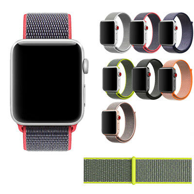 For Apple Watch iWatch 38mm/42mm Fabric Nylon Ring Wristband Watch Strap Fation