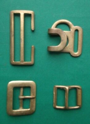 4 Irish Defence Forces brass Brass Buckles