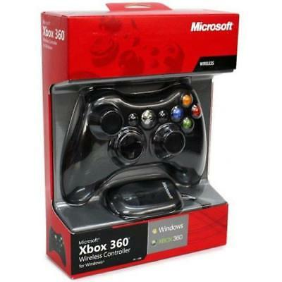 Official Xbox 360 wireless controller with receiver - Black - Box Is Broken