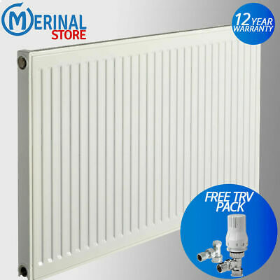 ExRad Radiator Compact Convector Panel White K1 P+ K2 Central Heating SelectSize