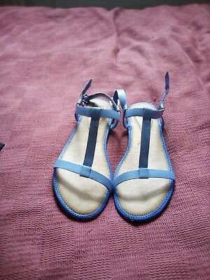 1e8b0b0866b3b CLARKS LADIES RISI Hop Summer Sandals Blue size 6.5 - £7.50 ...