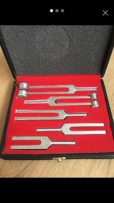 Angel Crystal Tuning Forks - Gateway to Angelic Kingdom w Activaror & Pouch