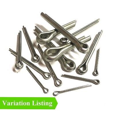 Cotter Split Pins, Metric Steel Retaining Pins Bright Zinc Plated  All Sizes