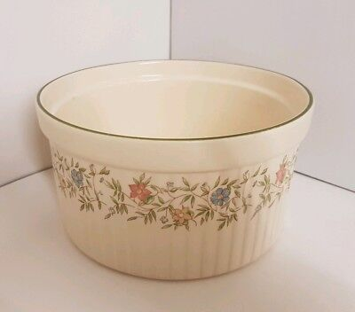 Vintage BHS Country Garland Dish Pot Oven-to-table.