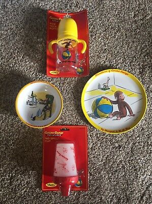 Curious George sippy cup set