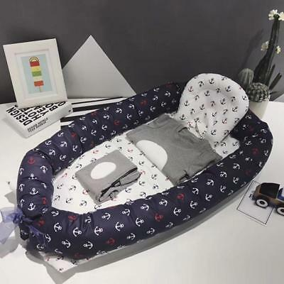 Reversible Baby Bed Snuggle Nest Infant born Sleeper Travel Cot Crib Bed-Tool