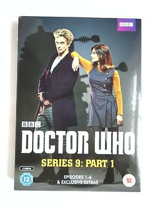 Doctor Who Season Series 9: Part 1 - DVD  NEW & SEALED  WH1