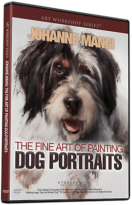 NEW Johanne Mangi: The Fine Art Of Painting Dog Portraits