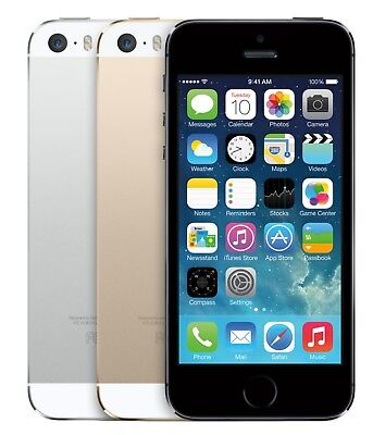 Apple iPhone 5S 16GB (Factory Unlocked)  Grey Gold Silver Smartphone
