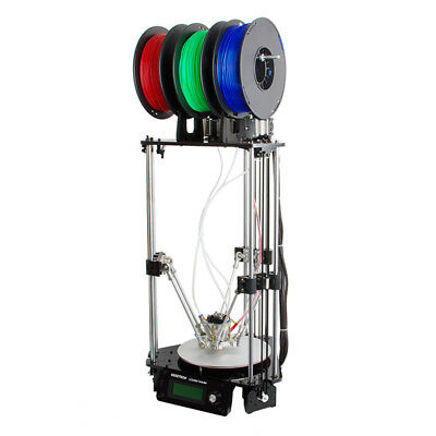 NEW CVAJF-G822 THE GEEETECH ROSTOCK 301 MIX COLOR 3D PRINTER LETS YOU PRINT.g.