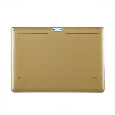 NEW CVAGW-104160-GOLD 3G ANDROID TABLET WITH 10.1-INCH DISPLAY, QUAD-CORE C.g.