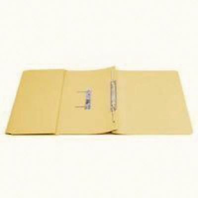Q-Connect 35mm Capacity Yellow Transfer Pocket Foolscap File ) [KF26099]
