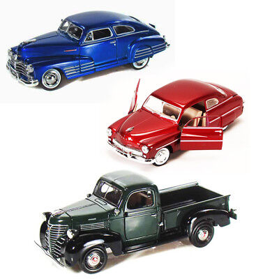 Best Of 1940S Diecast Cars Set Of 1/24 Scale Diecast Cars By Motor Max