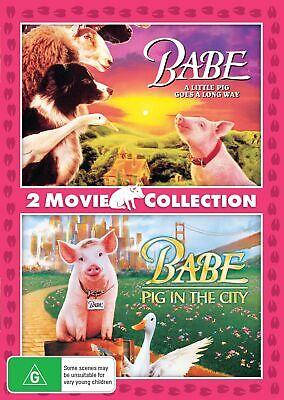 Babe / Babe Pig in the City DVD Region 4 NEW
