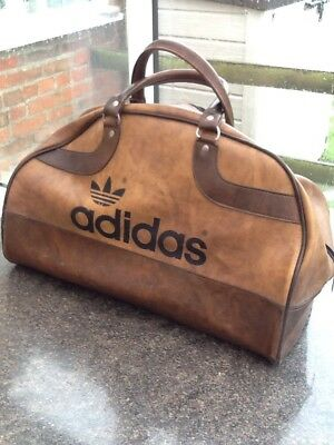 8e6ea34ad105 VINTAGE ADIDAS PETER black Bag Northern Soul 1970s - £31.00 ...