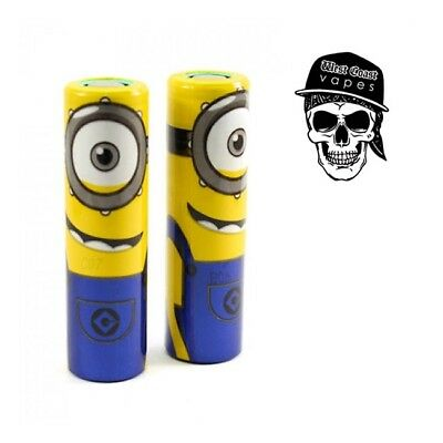 20700 Battery Wraps - Minions 2, 4 or 6 ***Dispatch Delay***