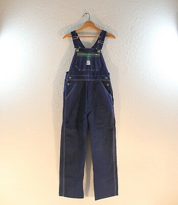 Liberty Youth Overalls - New - Size Y 16 R - Dark With White Stitch
