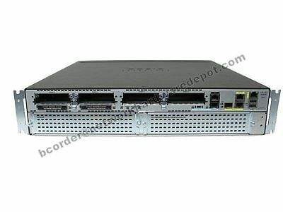 Cisco 2921-V Voice Bundle Router UC License CISCO2921-V/K9 - Missing Faceplate