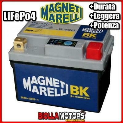 MM-ION-1 BATTERIA LITIO MAGNETI MARELLI YTX4L-BS LiFePo4 YTX4LBS MOTO SCOOTER QU