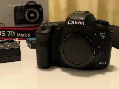 Canon EOS 7D Mark II 20.2MP Digital SLR Camera - Black (Body Only