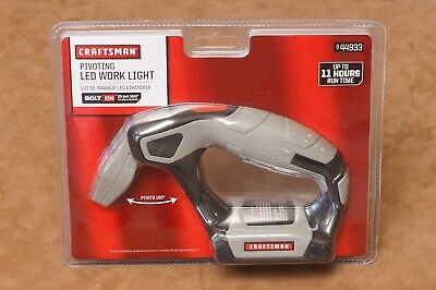 Craftsman Bolt On Pivoting LED Work Light 9-44933 20V MAX /black & Decker matrix