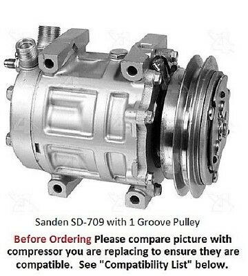 SANDEN REPLACEMENT Compressor Clutch Bearing For Sd708/709 /7H15